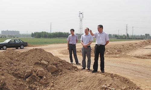 巩义市委常委、纪委书记杨彦峰到巩义市产业集聚区调研指导工作