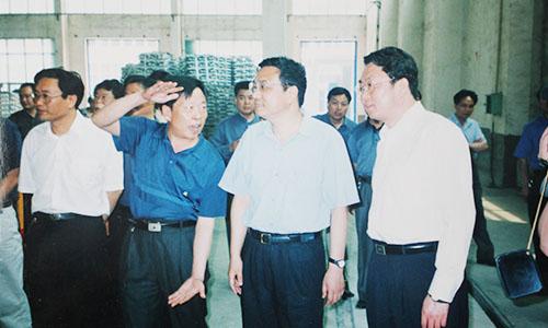 现国务院总理、原河南省省委书记李克强