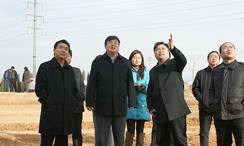 郑州市委常委、巩义市委书记舒庆到巩义市产业集聚区调研