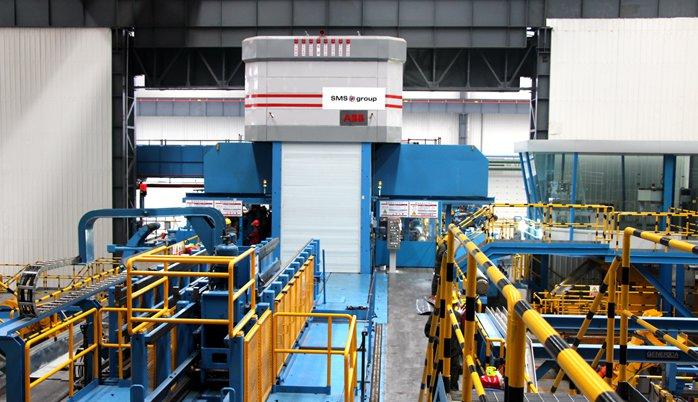 国内第四台超宽幅2800mm六辊冷轧机成功投产   引领中国铝加工高端制造