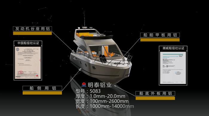 明泰铝业5083船板