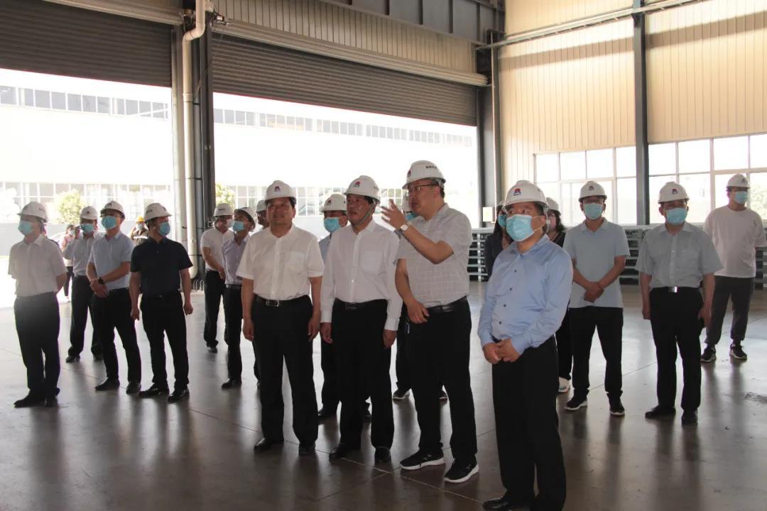 洛阳市政府观摩考察团莅临明泰科技参观考察